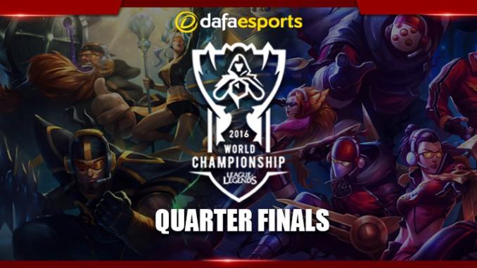 LoL World Championships – Quarterfinal Preview