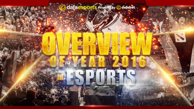 Overview of 2016 in eSports