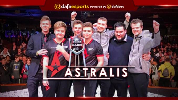 ELEAGUE Major 2017 Tournament Champions - Astralis