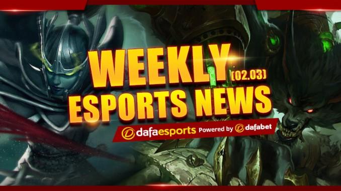 Weekly eSports Recap - Feb. 3, 2017