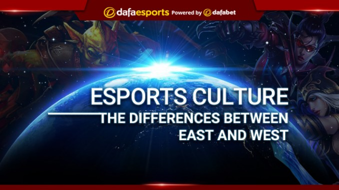Esports Culture: The differences between East and West