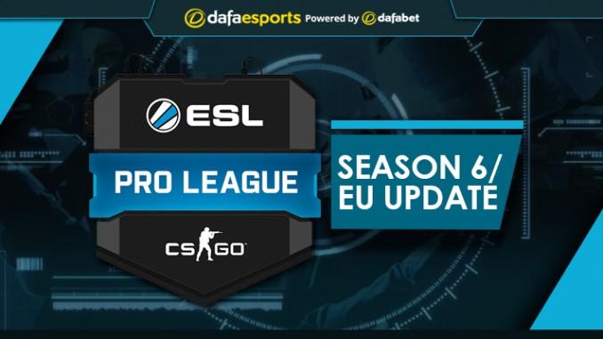 ESL Pro League Season 6 Event Conclusion esports news