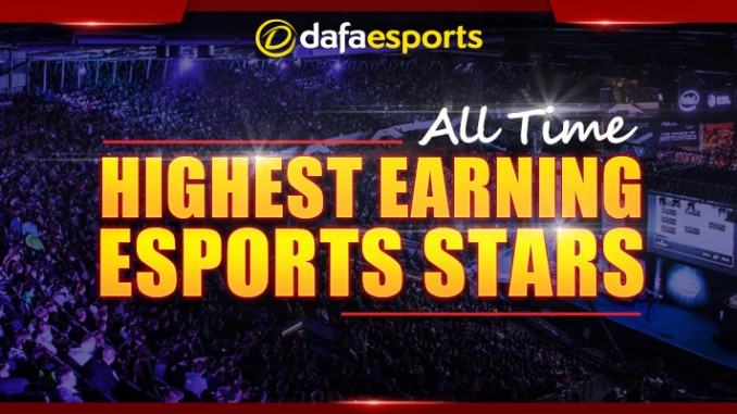 Top 5 highest eSports earners of all-time