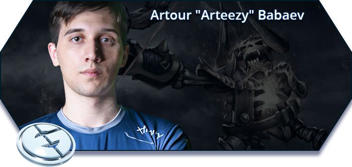 "Artour ""Arteezy"" Babaev / Clinks"