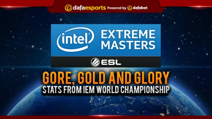 Gore, Gold and Glory: Stats from IEM World Championship