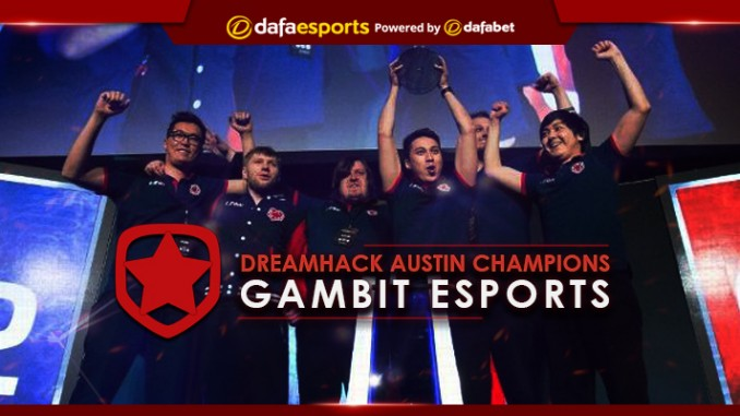 The gamble pays off as Gambit wins DreamHack Austin 2017