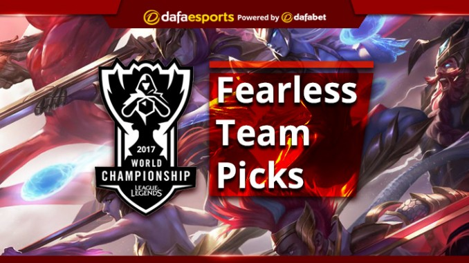 League of Legends World Championship – Fearless Team Picks for 2017